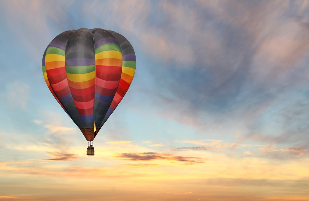 hot air ballooning in Jaipur | things to do in jaipur