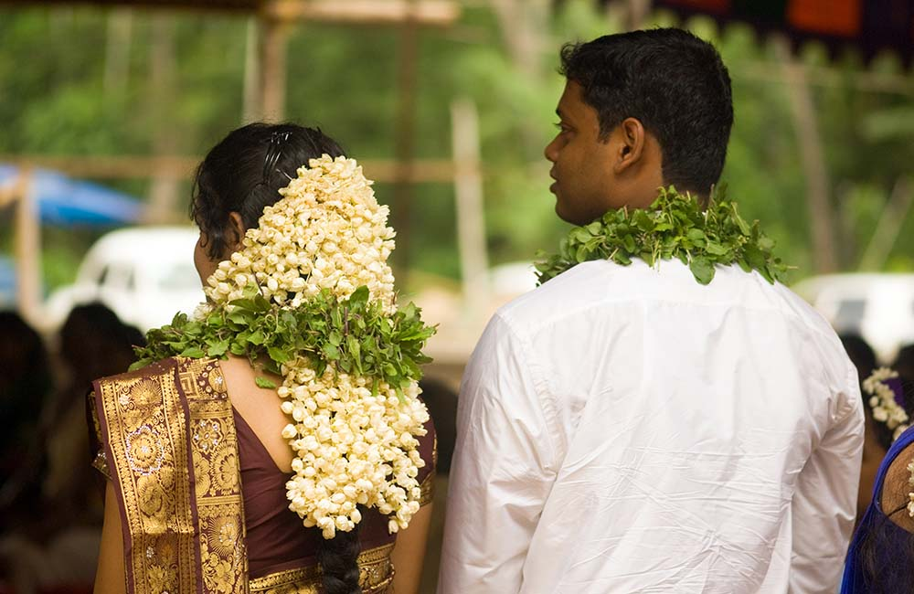 Kerala is one of the popular destination wedding locations in India.