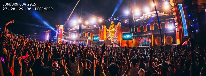 Sunburn Festival 2015, Goa