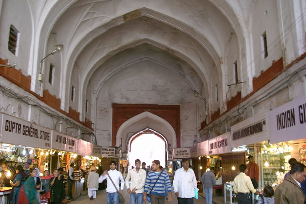 A Trail through the Markets of Old Delhi