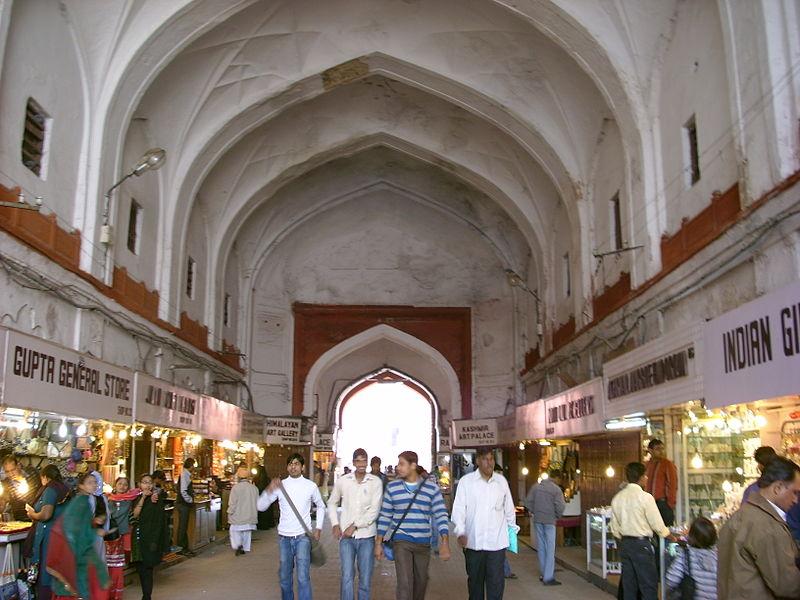 Chatta Chowk , old delhi, india