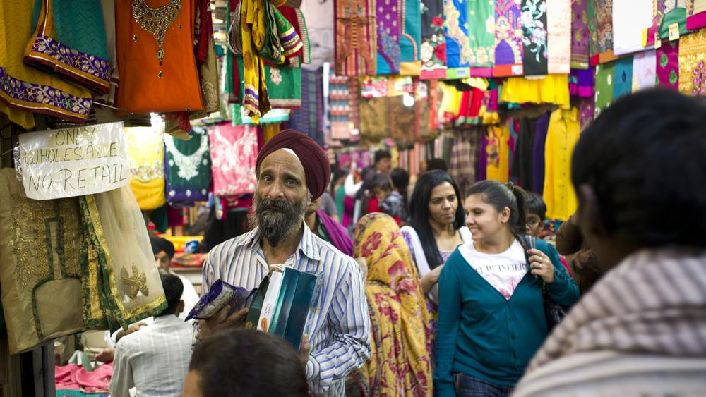 Chandni Chowk Market , Old Delhi