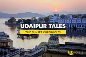 Chasing the Sunset in Udaipur