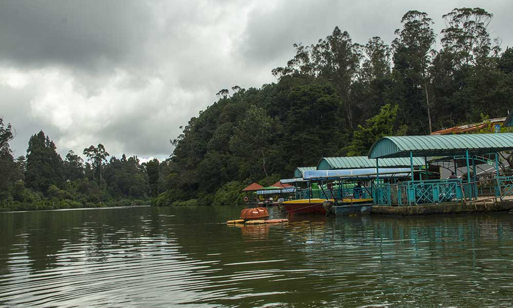 Ooty from the Lake
