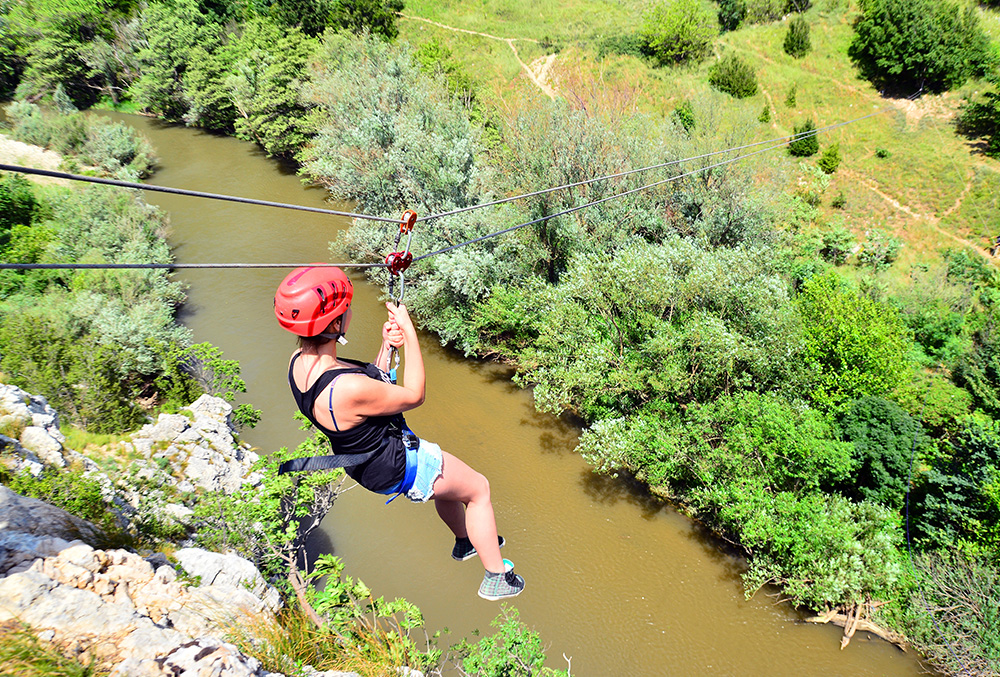Zip Lining in Rishikesh,Adventure sports in Rishikesh