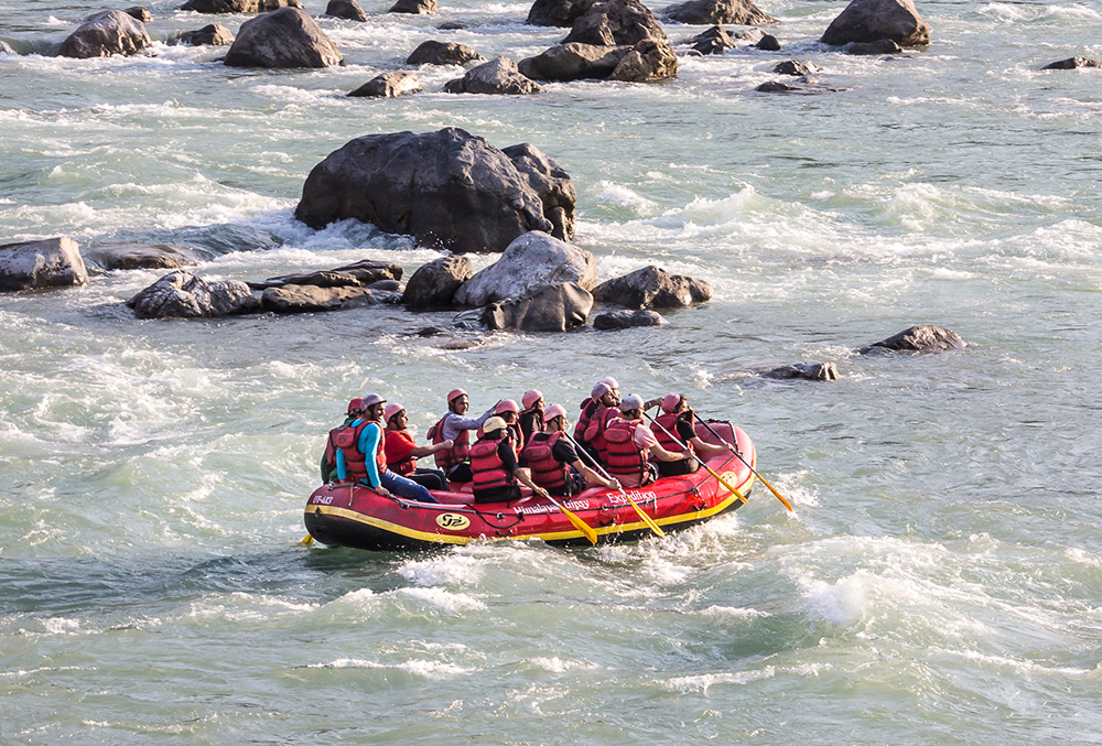 Rafting in Rishikesh,adventure sports in Rishikesh