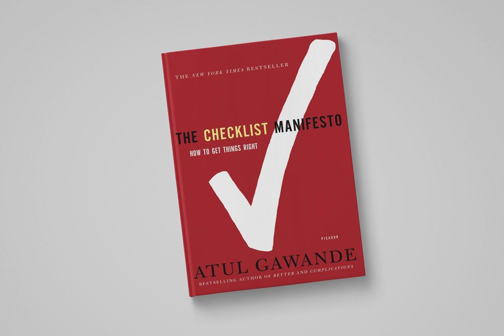 चेकलिस्ट घोषणापत्र: अतुल गवंडे द्वारा चीजें कैसे प्राप्त करें