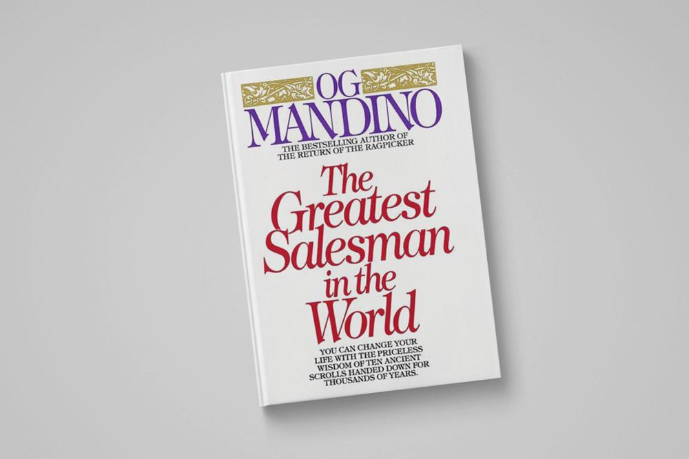 ओजी मंडिनो द्वारालिखी गई किताब दुनिया में सबसे महान विक्रेता
