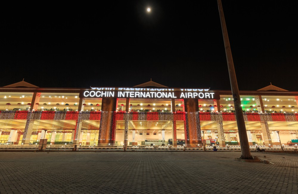 Cochin International Airport | #7 of 10 Busiest Airports in India