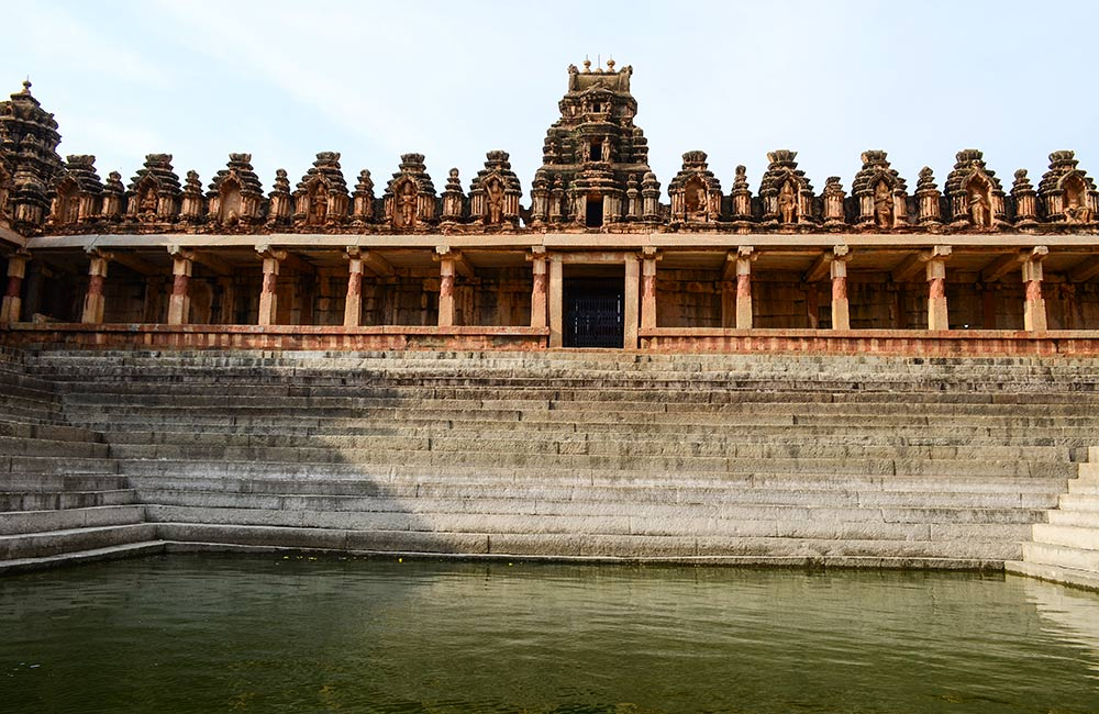 Behold magnificent architecture at Bhoga Nandeeshwara Temple
