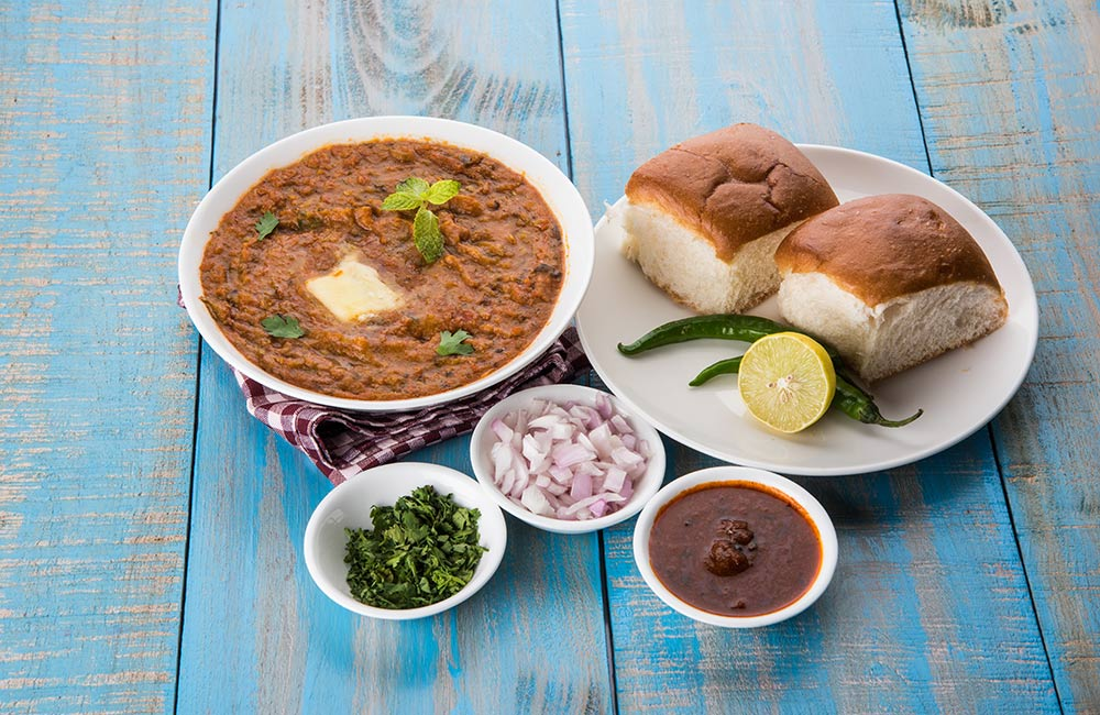Pav Bhaji | Street food in Mumbai