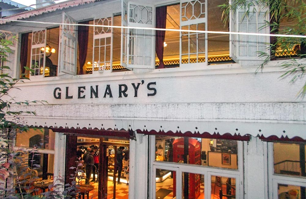 Glenary's in Darjeeling