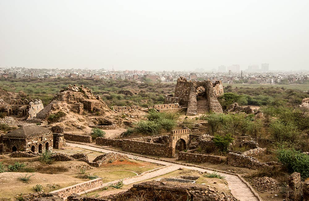 Tughlaqabad Fort | Best Offbeat Places in New Delhi