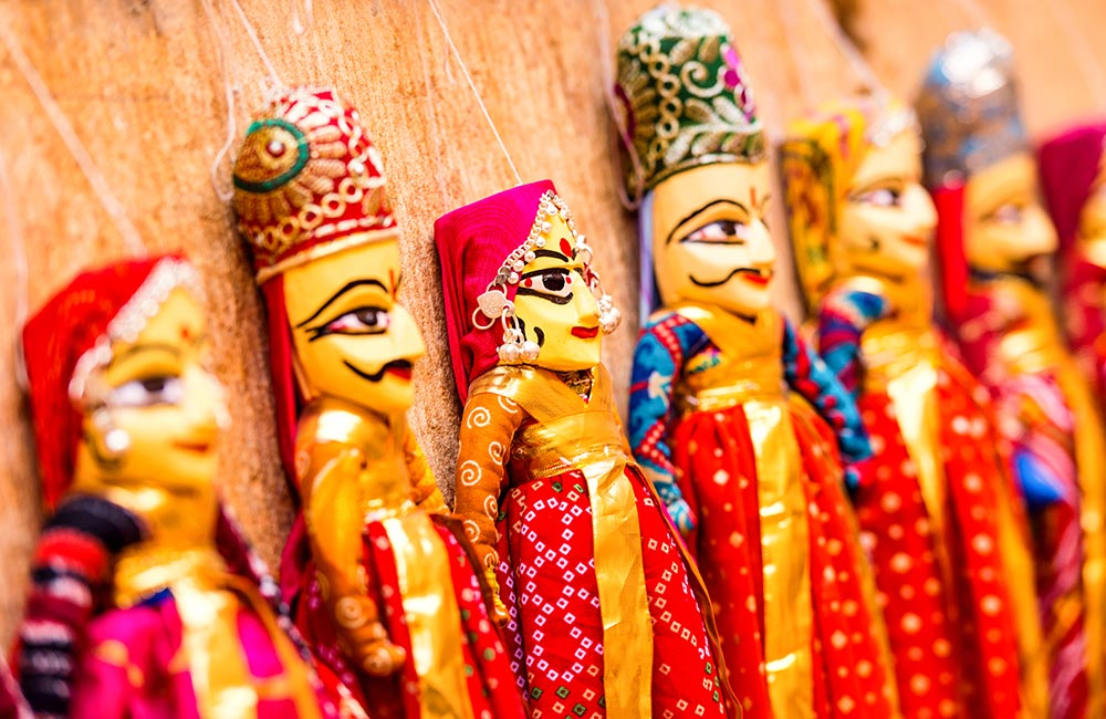 Kathputli colony | Best Offbeat Places in New Delhi