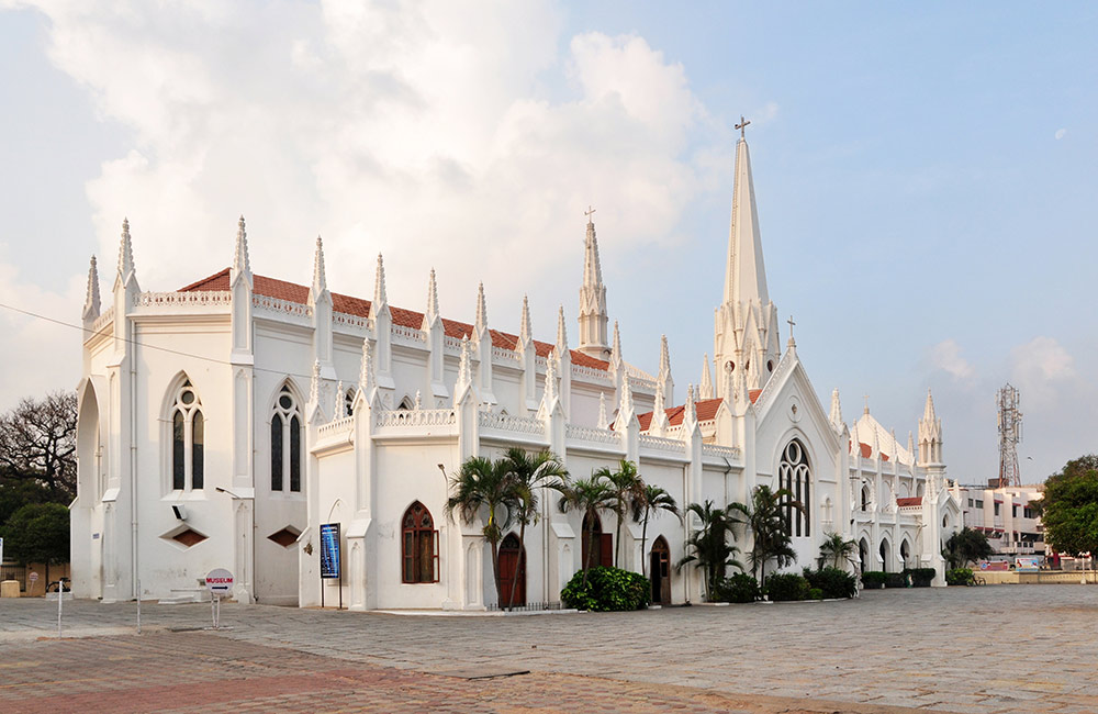 Thomas Cathedral Basilica | Best Churches in Chennai