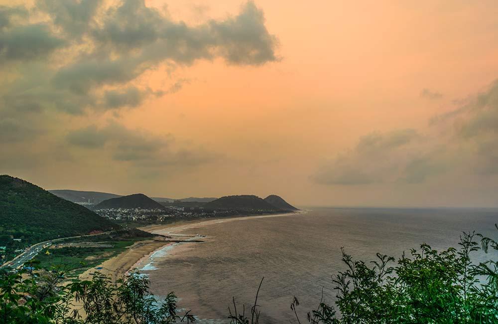 Rushikonda Beach | Places to visit in Visakhapatnam