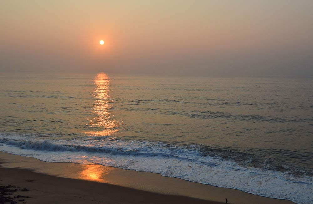 Rama Krishna Mission Beach | Places to visit in Visakhapatnam