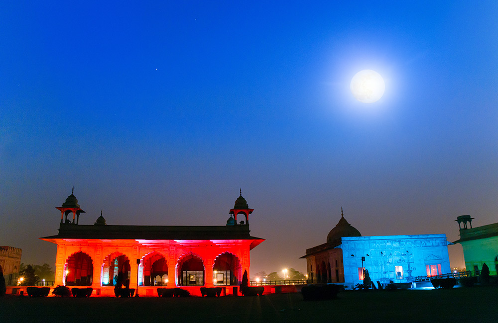 Red Fort, Delhi | Best Light and Sound Shows in Delhi