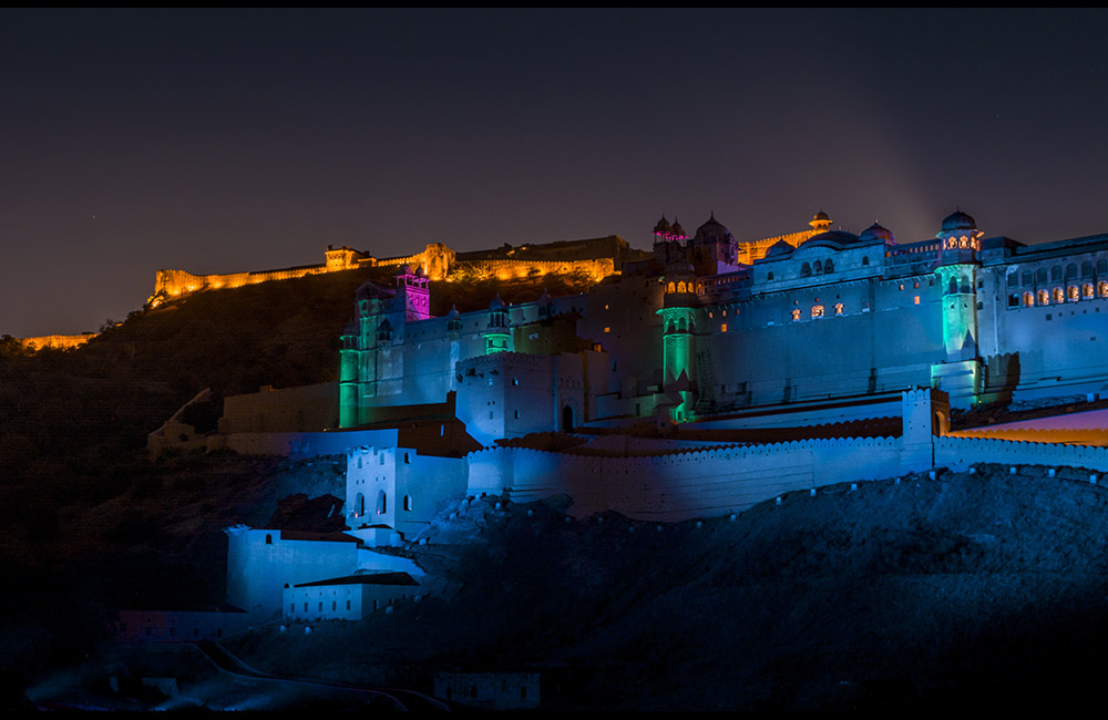 Amber Fort, Jaipur | Best Light and Sound Shows in Rajasthan