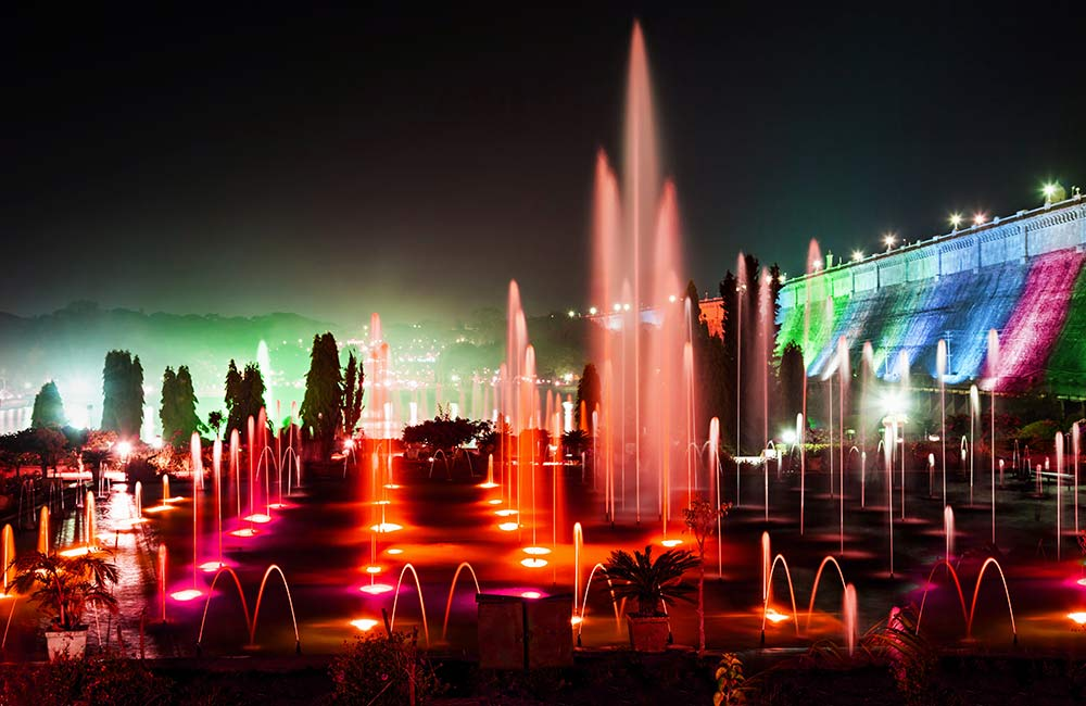 Brindavan Gardens, Mysore | Best Light and Sound Shows in India