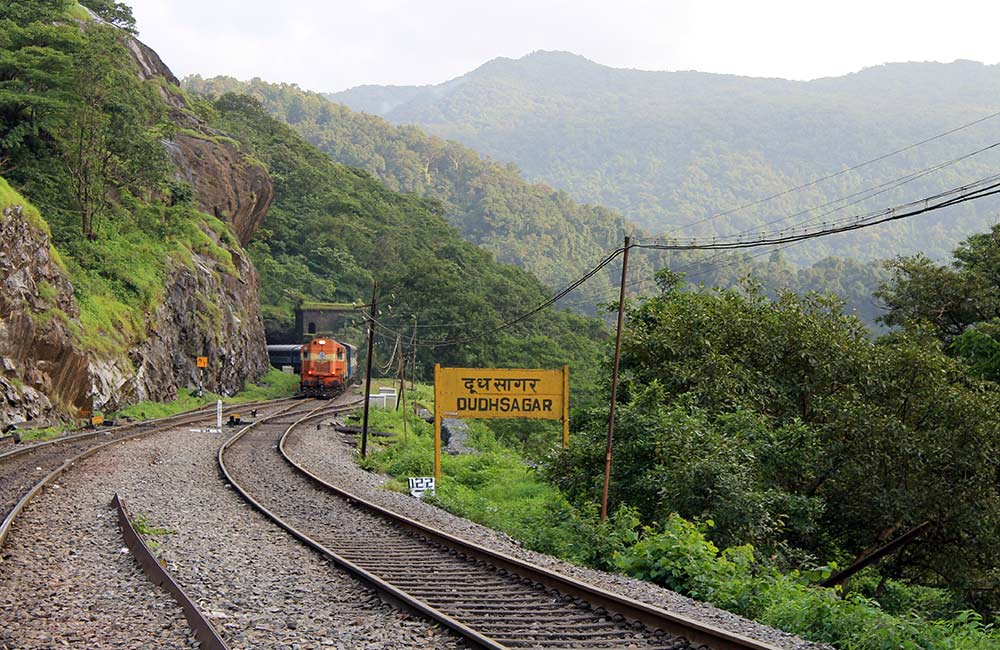 Dudhsagar Railway Station, Goa