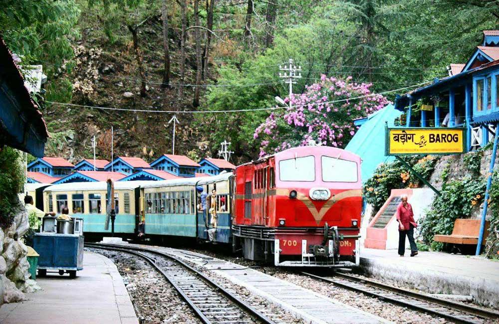 Barog Railway Station, Himachal Pradesh