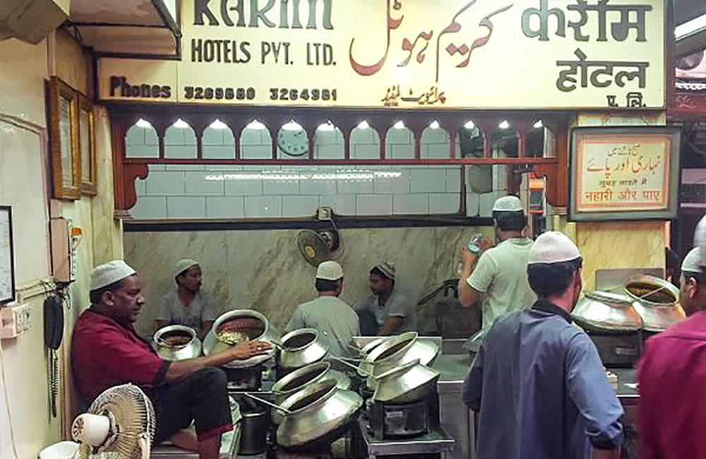 Karim's in New Delhi