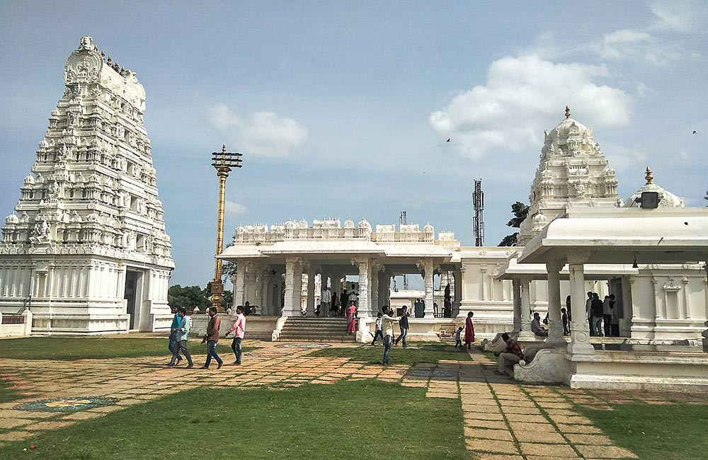 Sanghi Temple (#6 out of 7 Best Temples in Hyderabad)