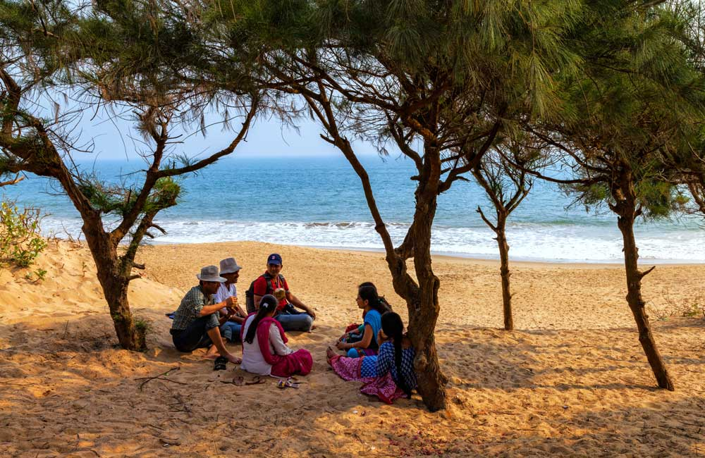 Chandrabhaga Beach | best restaurants in Bhubaneswar