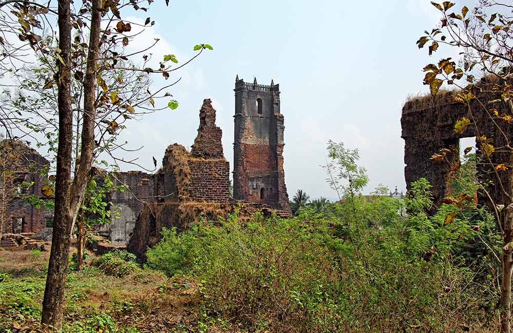 Church of Saint Augustine | UNSECO World Heritage Sites in Goa