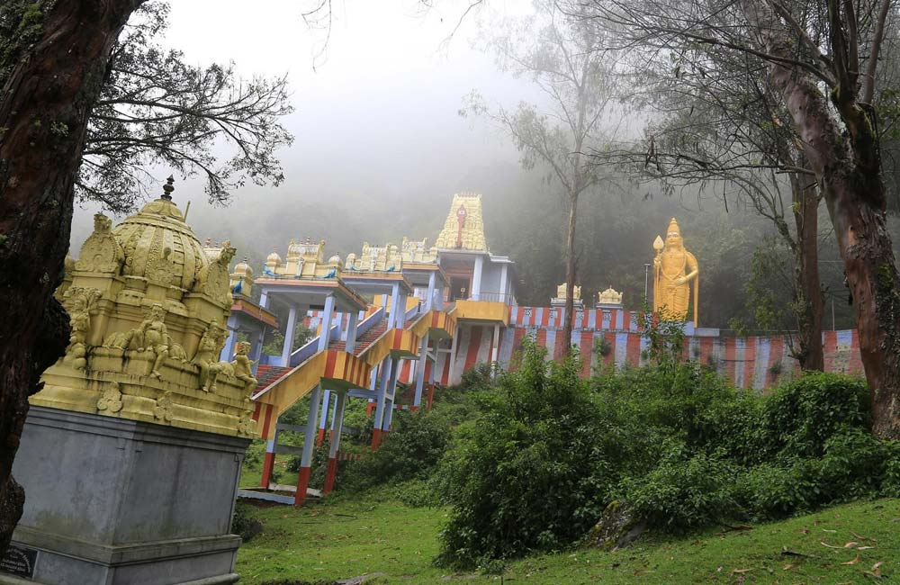 Elk Hill Lord Murugan Temple,Ooty