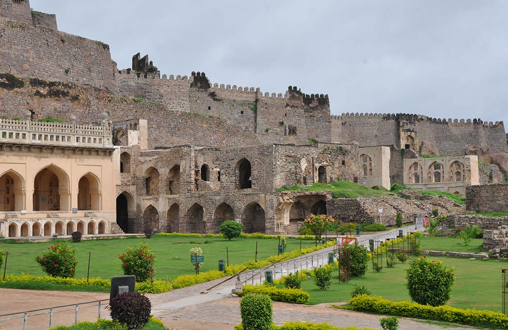 Golkonda Fort | Haunted Places in Hyderabad