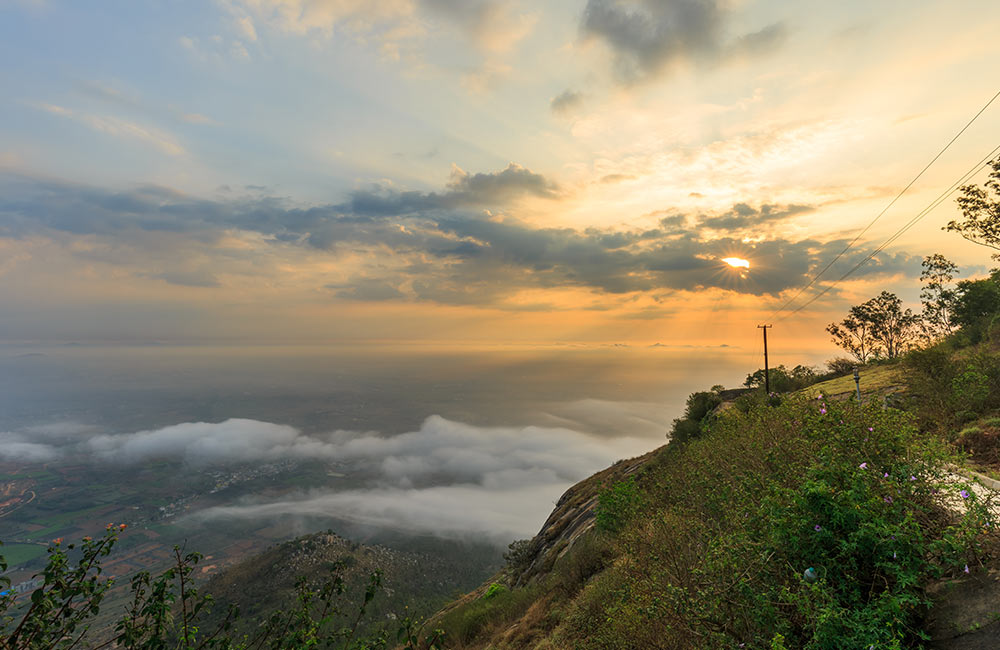Nandi Hills | Best trekking places near Bangalore within 100 km