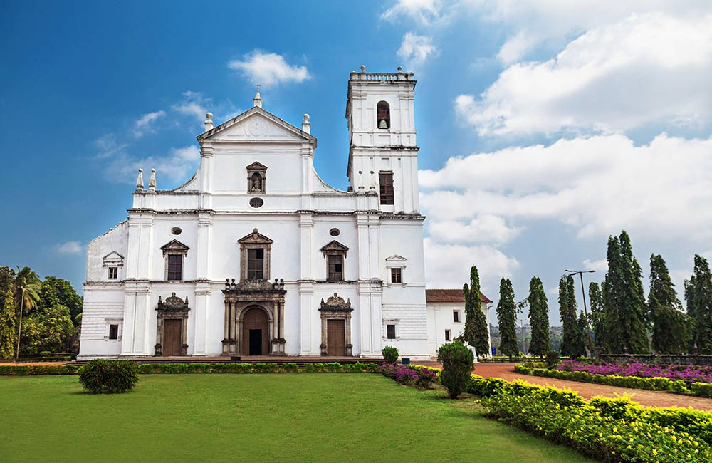 Se Cathedral | Among The Best Places to Visit in Goa in 3 Days