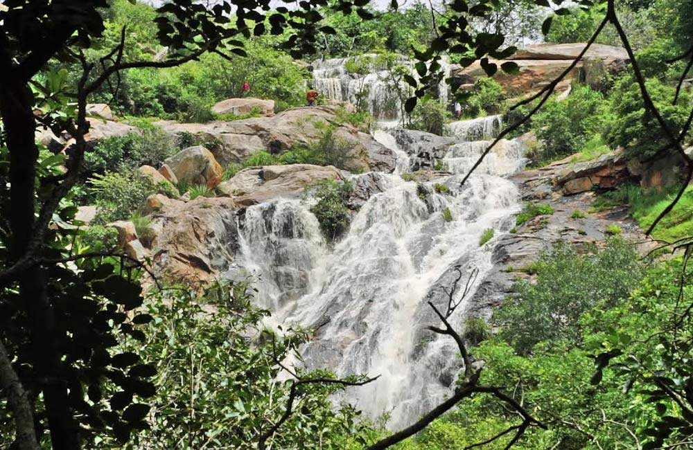 Muthyala Maduvu Falls | Among the Best Waterfalls near Bangalore withing 50 km