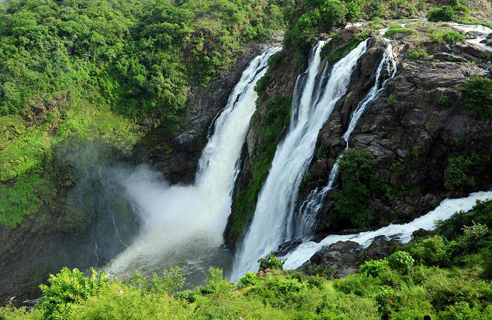 Shivanasamudra Falls | Among The Best Waterfalls Near Bangalore withing 200 km