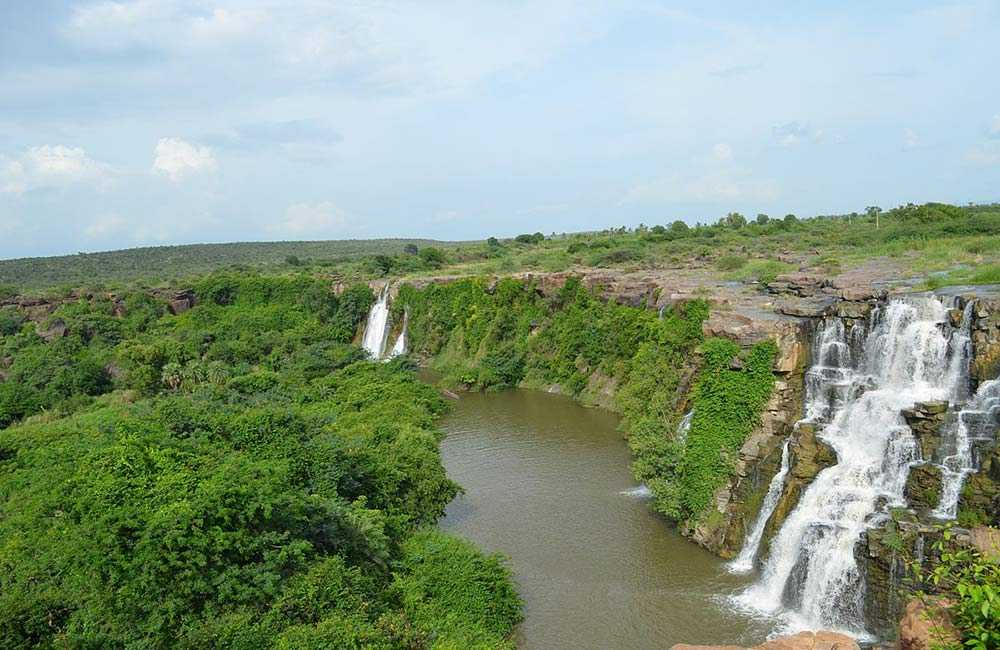 Ethipothala Waterfalls | Among the Best Waterfalls near Hyderabad within 200 km