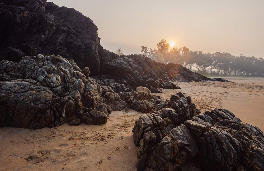 Patnem Beach | Among the Less-crowded Beaches in South Goa