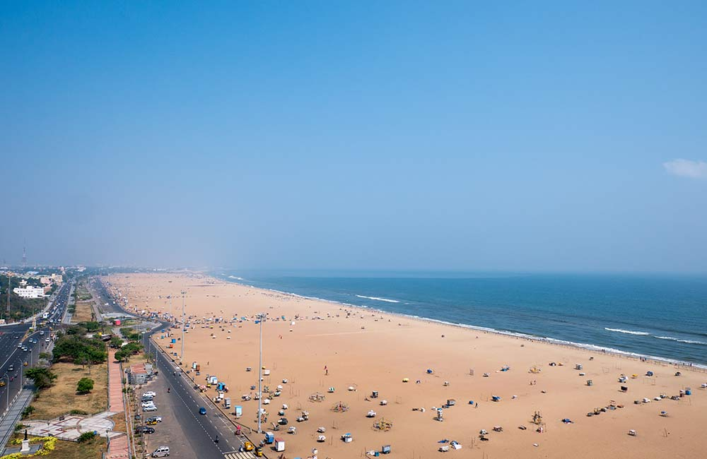 Marina Beach | Beaches near Bangalore within 400 km