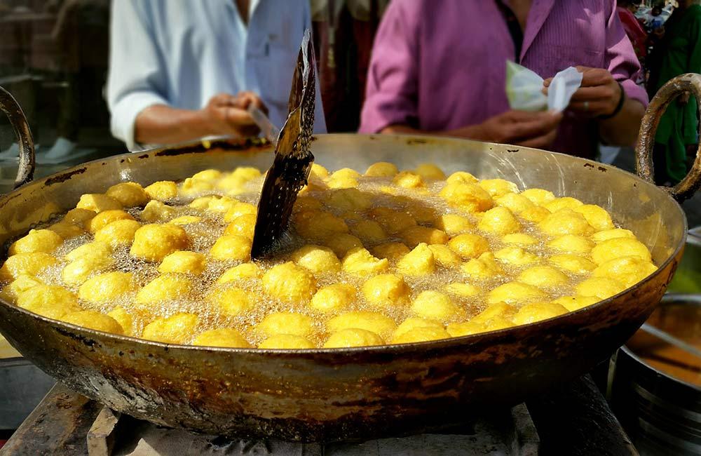 Ram Laddoos | Among the Best Street Foods in Delhi