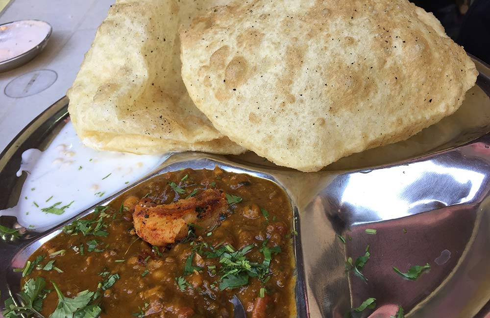 Chole Bhature | Among the Best Street Foods in Delhi