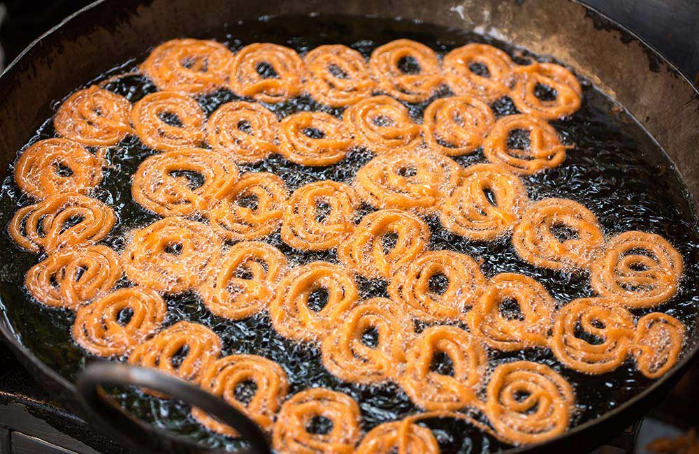 Rabri Jalebi | Among the Best Street Foods in Delhi