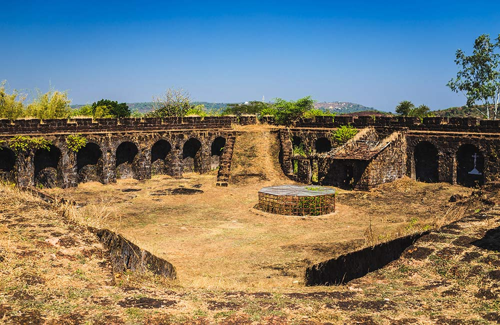 Corjuem Fort | Forts in Goa