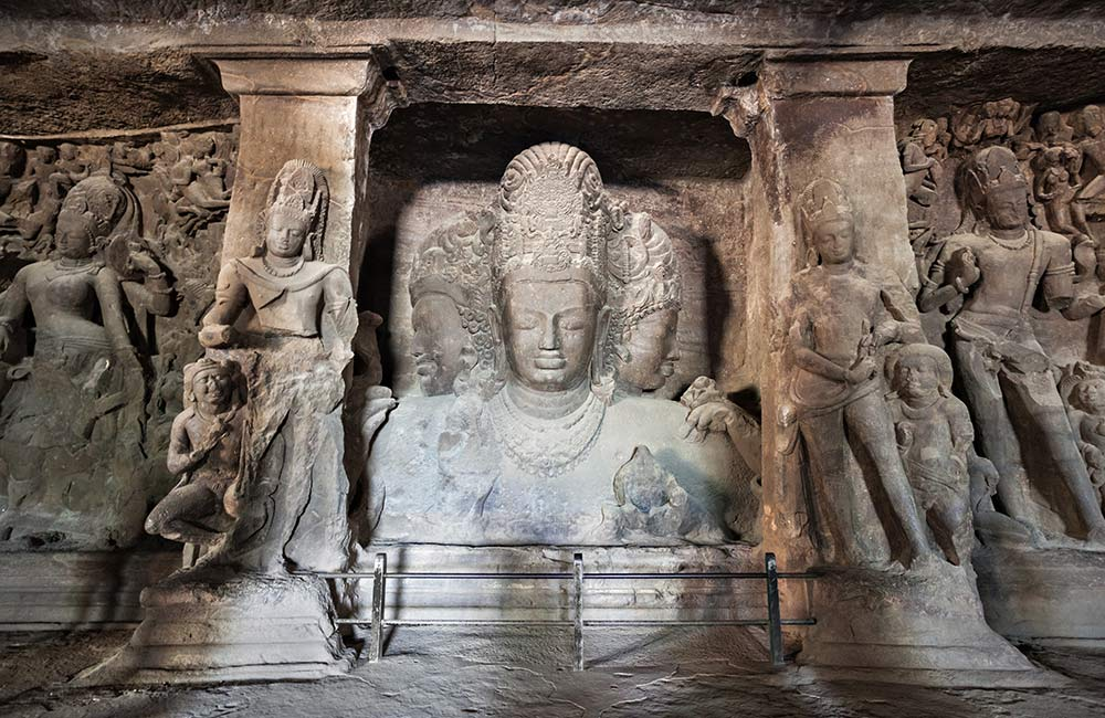 Elephanta Caves UNESCO World Heritage Sites in Mumbai
