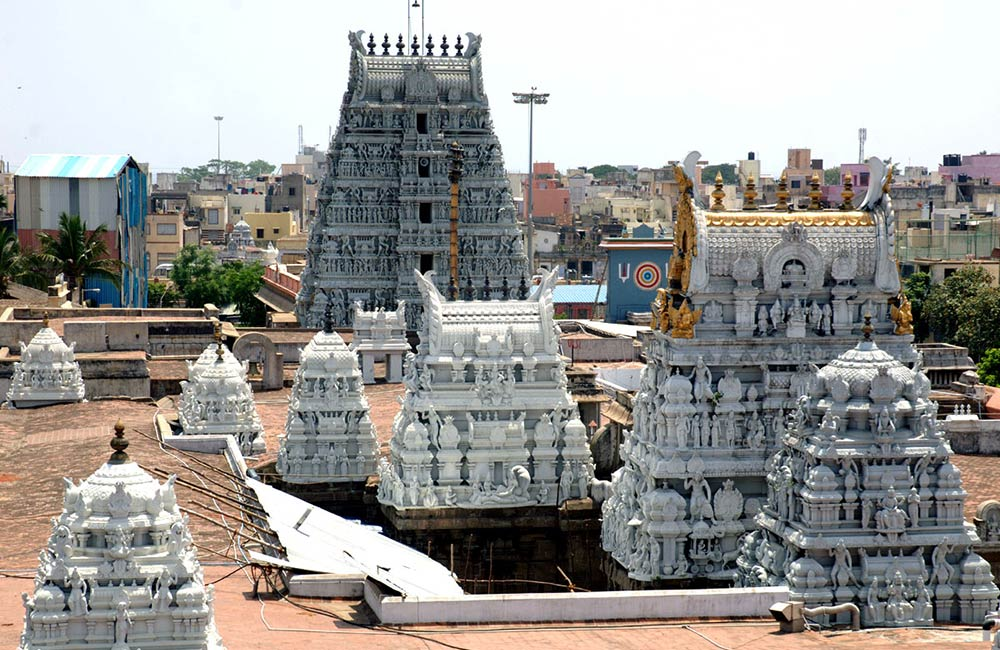 The Ancient Parthasarathy Temple | Temples in Chennai