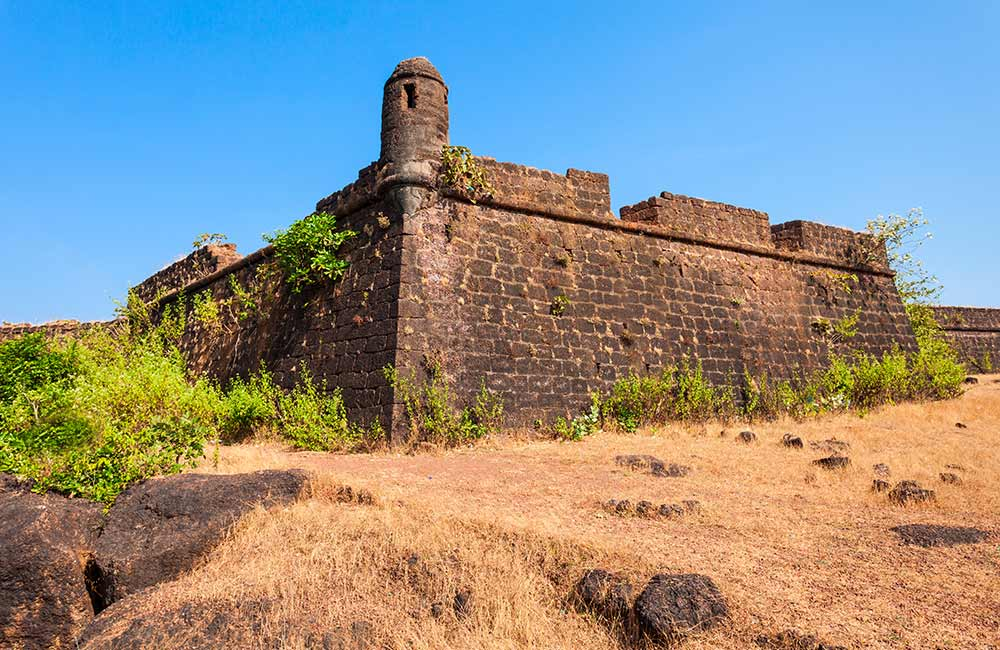 Chapora Fort | Forts in Goa