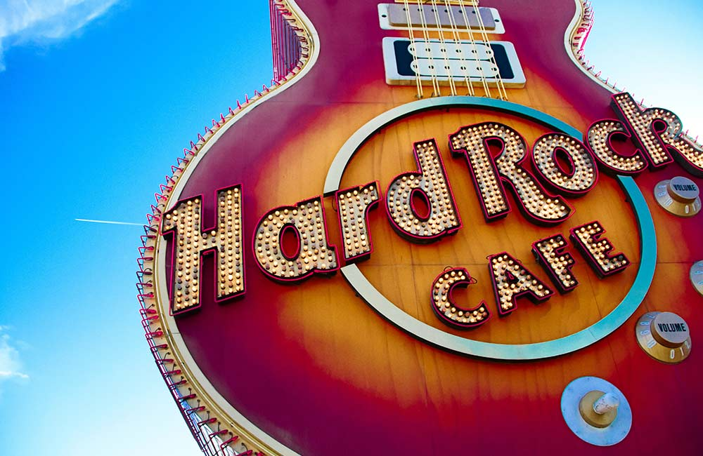 Hard Rock Cafe | cheap and best hangout places in hyderabad