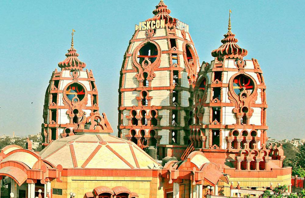 ISKCON Temple, East of Kailash | Among the Most Famous Temples in Delhi