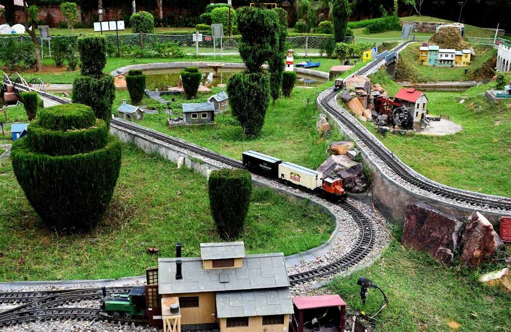 NeverEnuf Garden Railway | Things to Do in Gurgaon for Under ₹ 999