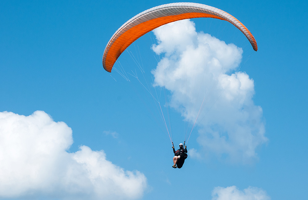 Paragliding | Adventure Sports in Hyderabad